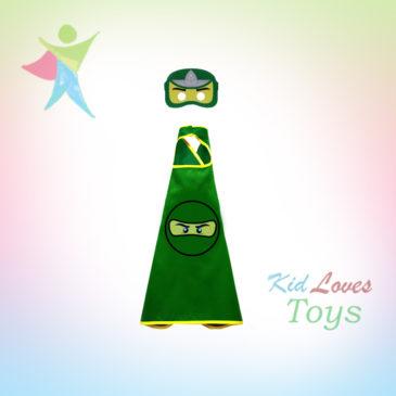 Green Ninja Cape