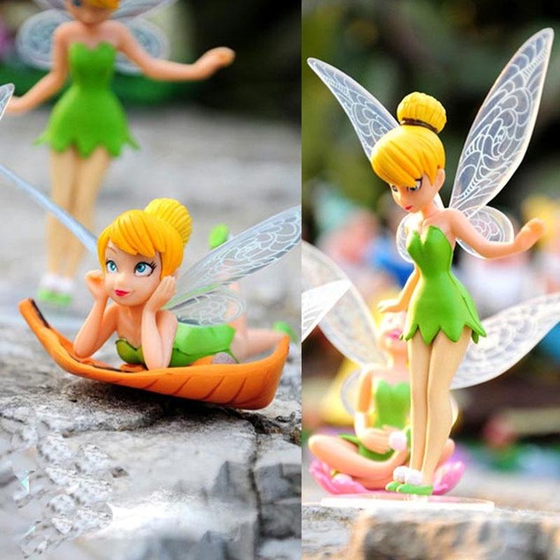 Tinkerbell Dolls 6pcs Set Kid Loves Toys